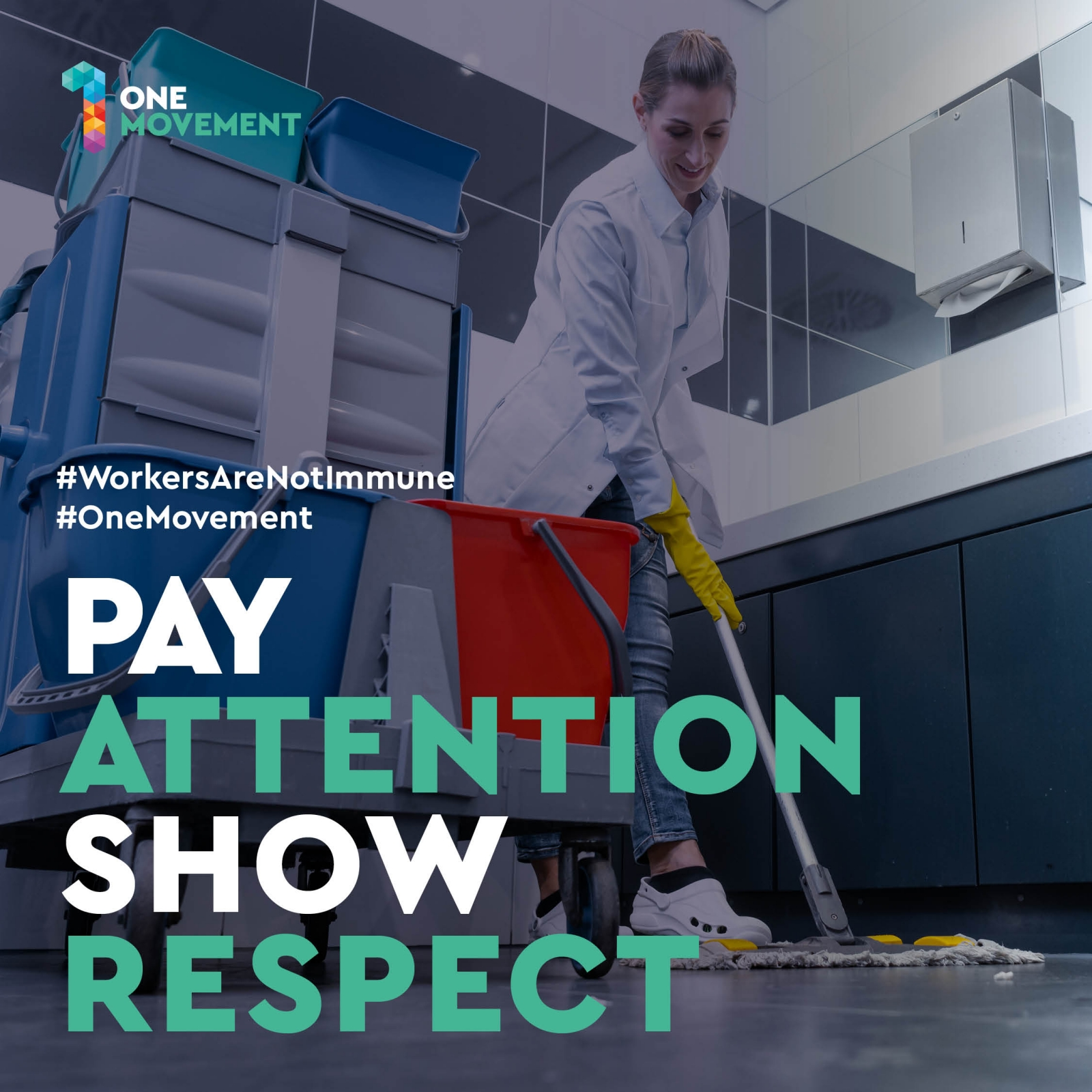 Pay attention show respect
