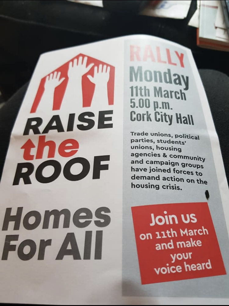 Raise the Roof Rally Campaigners March 2019